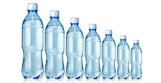 Bottiglie in pet per acqua